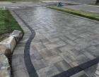 exterior landscape design driveway installation