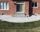 exterior landscape design interlocking steps