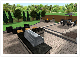 backyard designs richmond Hill 01