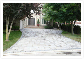 richmond Hill custom driveway contractor