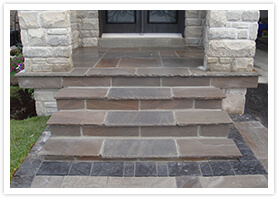 custom flagstone walkways kleinburg 6