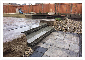 custom landscape steps vaughan 4