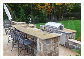 custom natural stone retaining walls vaughan 5