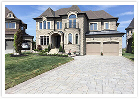 stone driveways in richmond Hill ontario