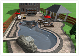 landscape design richmond Hill 00