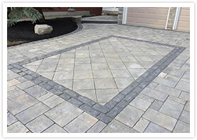 richmond Hill stone driveways contractor