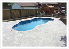 swimming pool landscaping vaughan 3